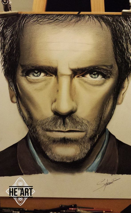 Hugh Laurie by Smiley